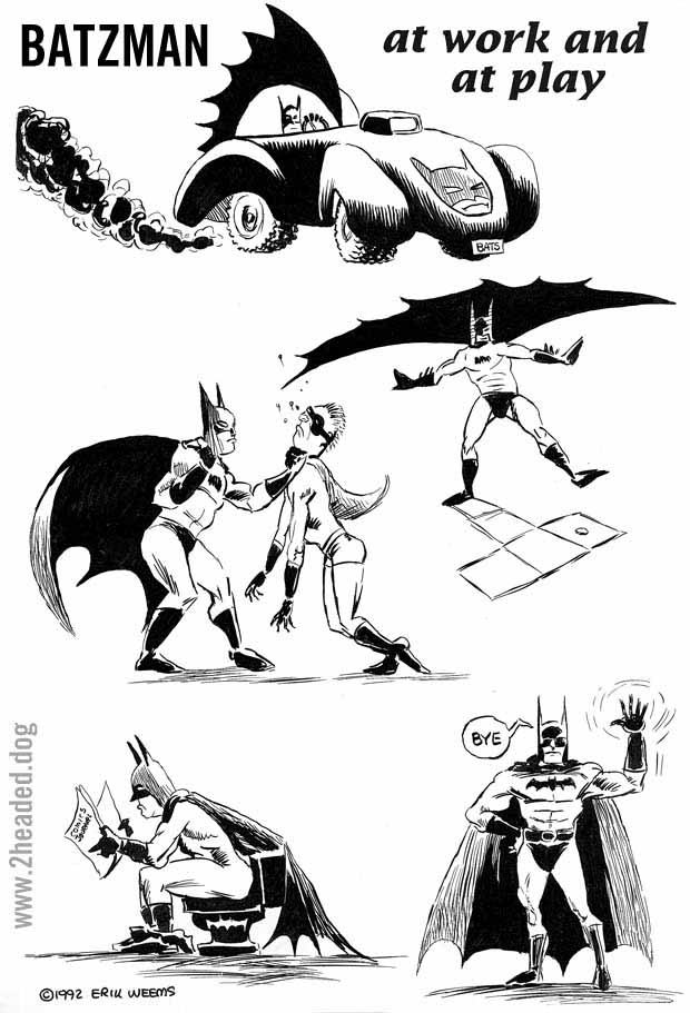 Batzman at Work and at Play issue 17