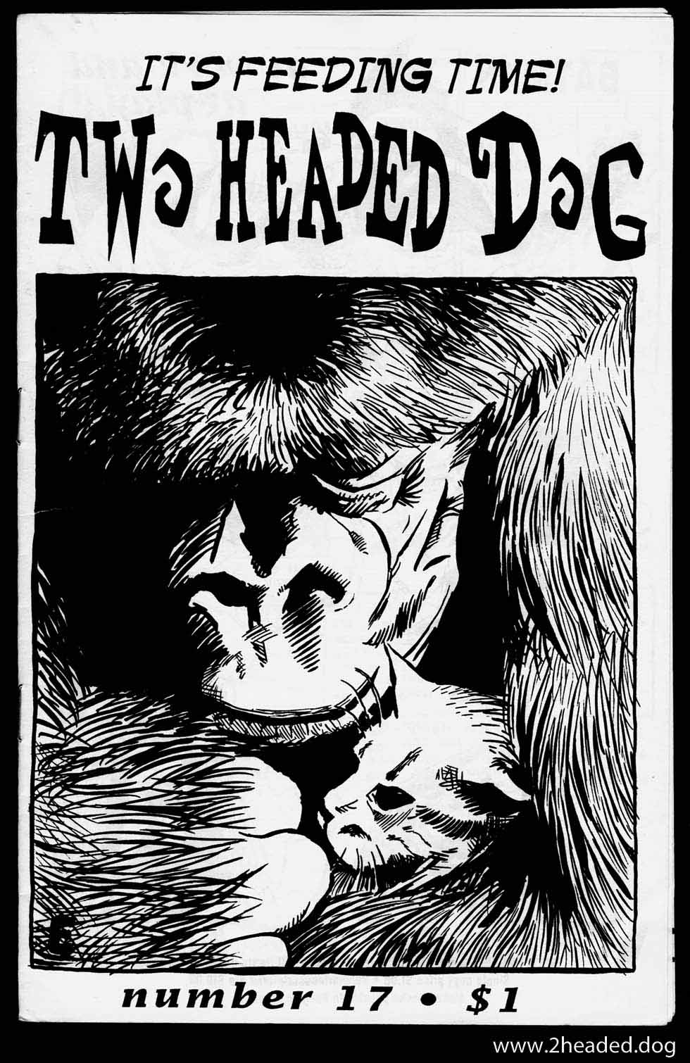 Two Headed Dog 17 Cover Gorilla and Kitten
